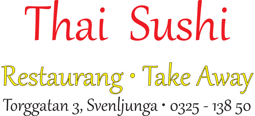 Thai Sushi Svenljunga logotype